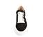 Ref. 4517 Sneaker serraje gris oscuro con detalle lateral de estrella en piel blanca. Plataforma de goma blanca. Altura trasera 6 cm y delantera 4.5 cm. - Ítem2