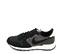 Ref. 4534 Nike internationalist combinada en serraje y tela negra. Simbolo lateral en piel blanco. - Ítem3