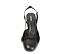 Ref. 4544 Zapato combinado en ante negro y puntera en piel negra. Destalonada con pulsera y hebilla dorada. Altura tacón 6.5 cm y sin plataforma delantera. - Ítem2