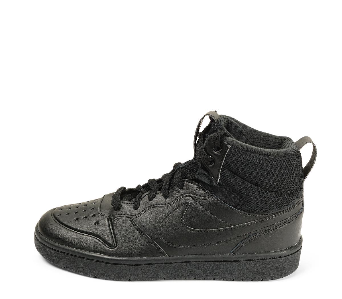 Ref. 4556 Nike de botín en piel marrón y cordones al tono. Simbolo en color negro. Suela caramelo.