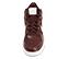 Ref. 4557 Nike de botín combinada en tela y piel color burdeos. Cordones al tono. Simbolo lateral y trasero en piel blanca. Suela blanca. Altura de caña 10 cm. - Ítem2