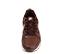 Ref. 4558 Nike combinada en piel y tela burdeos. Cordones al tono. Simbolo lateral en piel blanca. Suela blanca. - Ítem2
