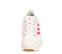 Ref. 4561 Adidas forest grove combinada serraje y tela beige. Simbolo lateral en tela fucsia. Detalle trasero piel blanca. - Ítem2