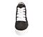Ref. 4572 Sneaker abotinada serraje gris. Cordones blancos. Detalles lateral en piel blanca. Plataforma blanca de 4 cm. Altura de caña 8 cm. - Ítem2