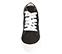 Ref. 4583 Sneaker abotinada serraje negro. Cordones blancos. Detalles lateral en piel blanca. Plataforma blanca de 4 cm. Altura de caña 8 cm. - Ítem2