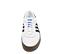 Ref. 4631 Adidas Sambarose piel blanca con detalles en piel negro. Altura plataforma 3 cm. Cordones blancos. Suela de goma marrón. - Ítem2