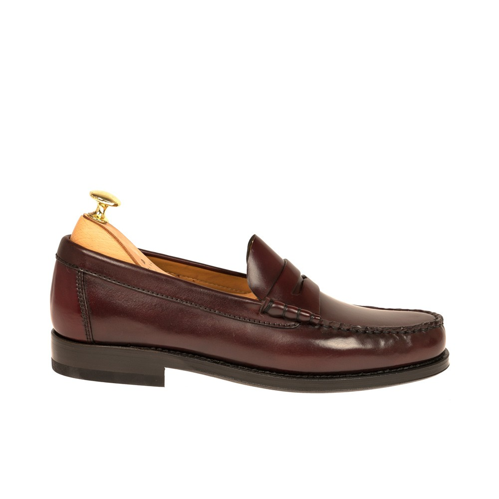CORDOVAN PENNY LOAFERS 80160 XIM