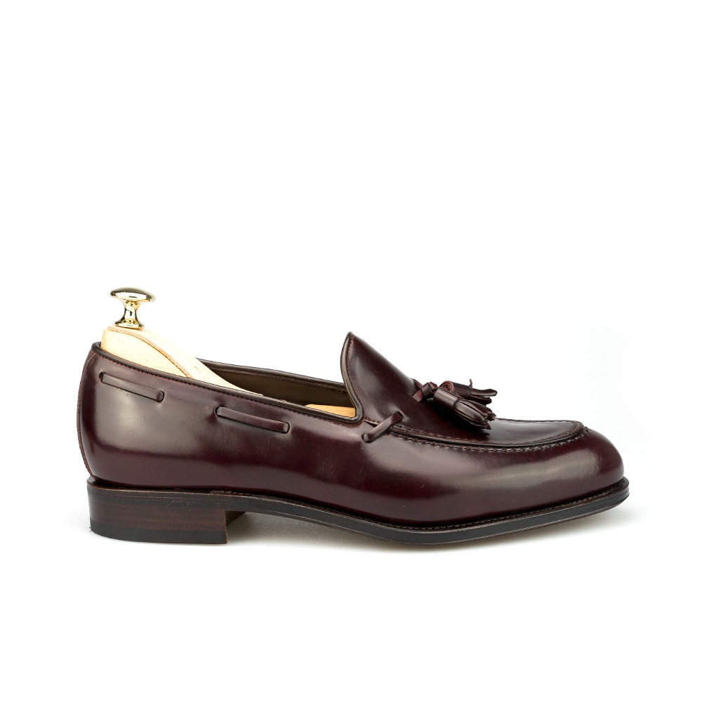 Cordovan loafers