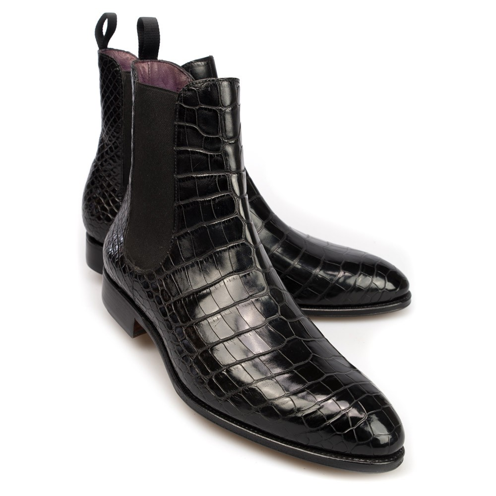 5a907630553c Alligator Shoes and Boots – Exotic Skins