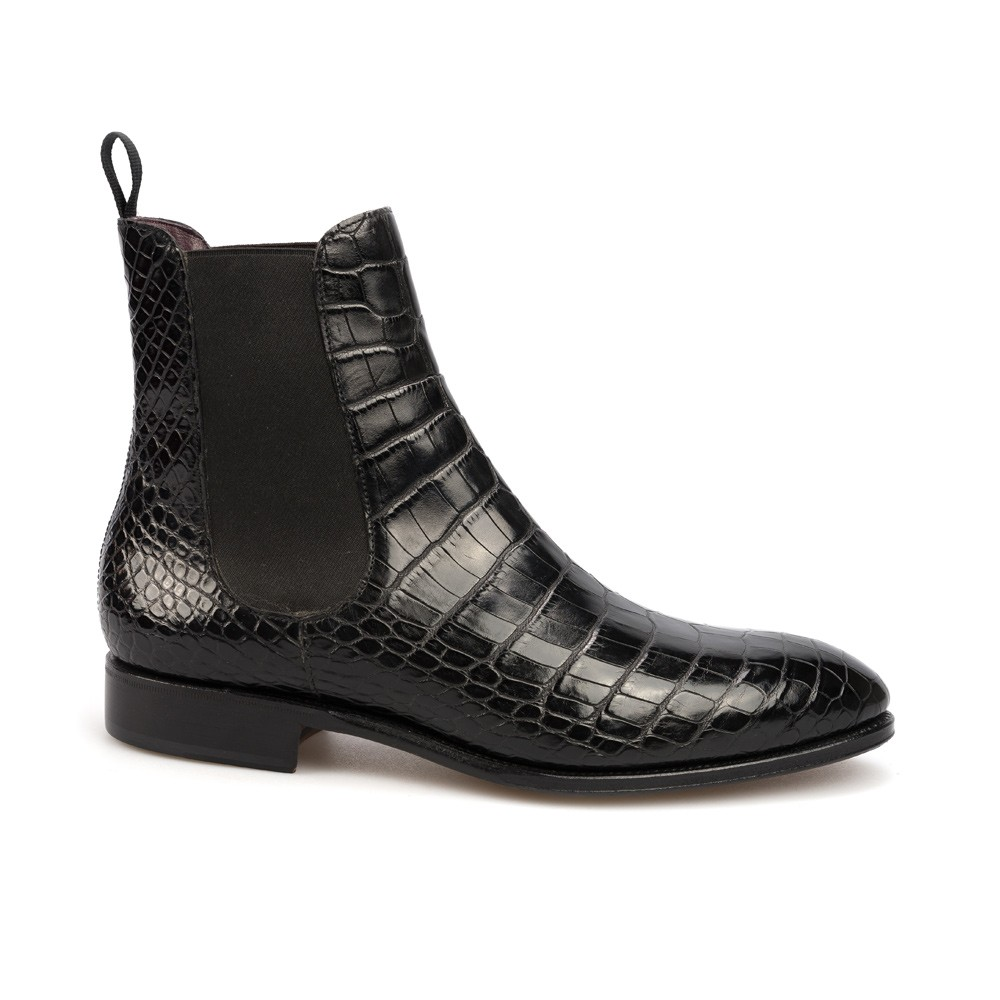 Alligator Skin Shoes Men