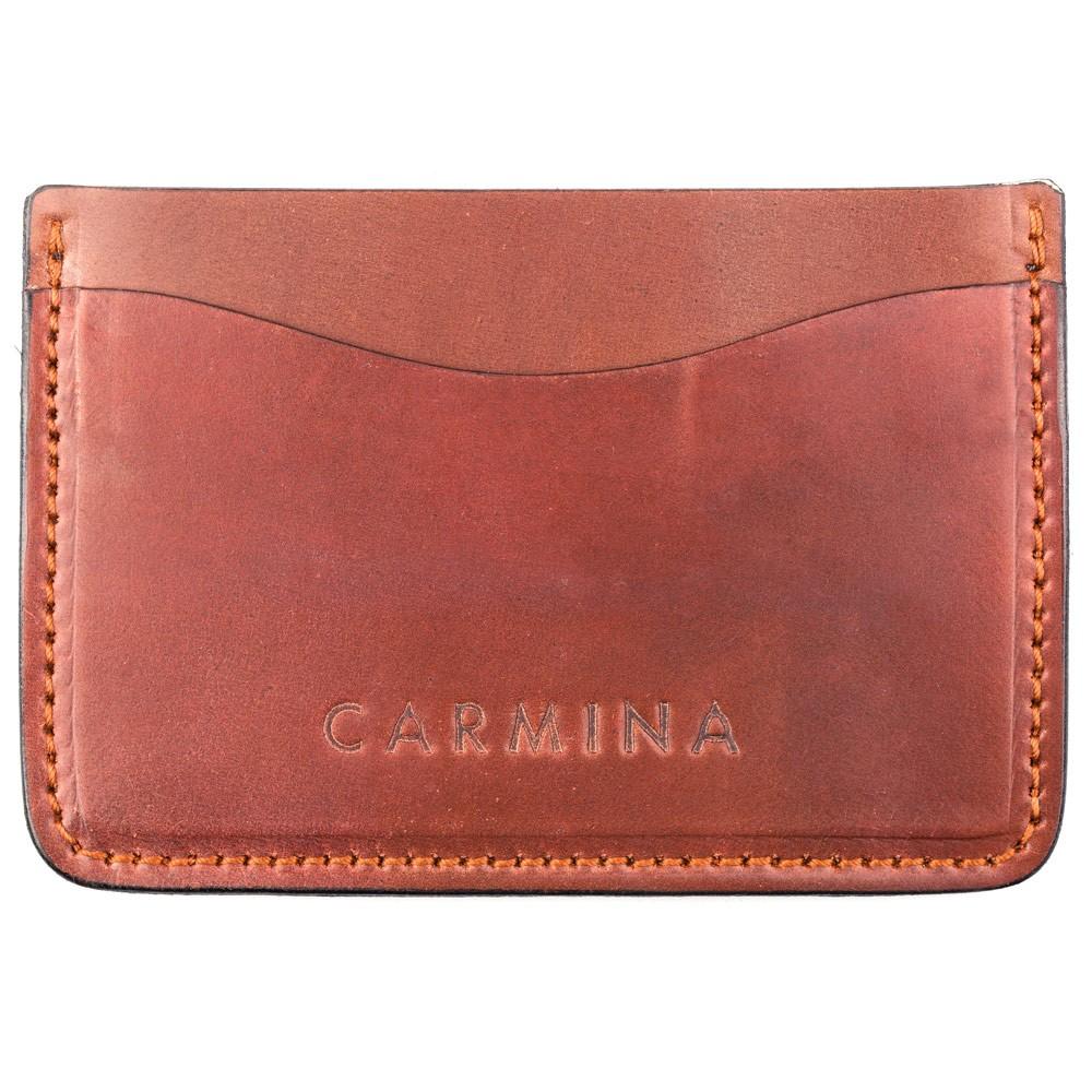 Cordovan card holder in Armagnac