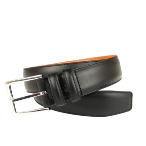 BLACK CALF BELT