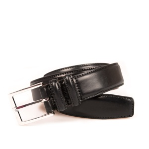 BLACK CORDOVAN BELT