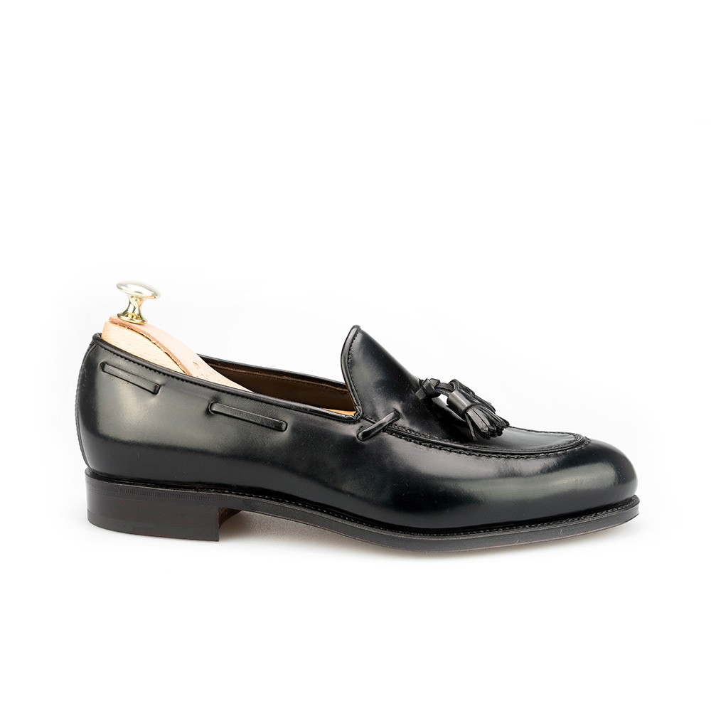 Men's cordovan loafers