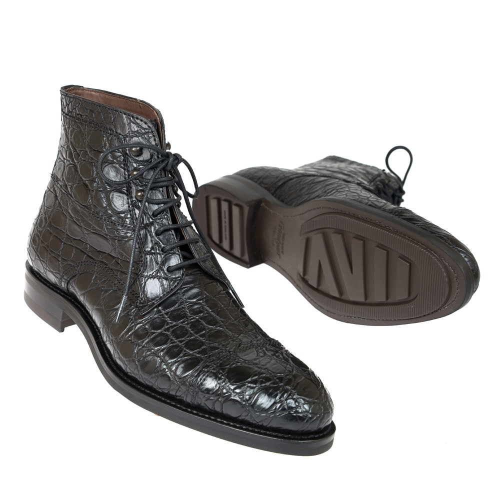 CROCODILE ANKLE BOOTS 80207 SOLLER