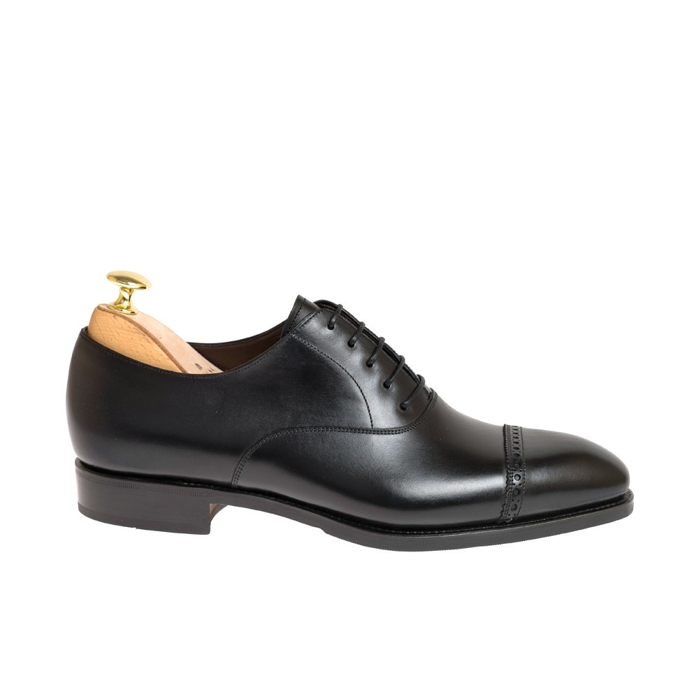 BLACK DRESS SHOES 80201 RAIN EEE