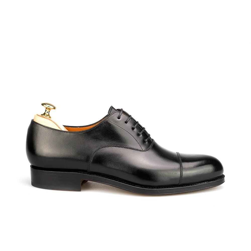 zapato inglés para hombre en negro