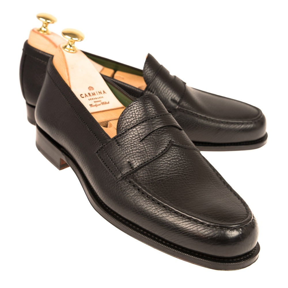 BLACK PENNY LOAFERS 80440