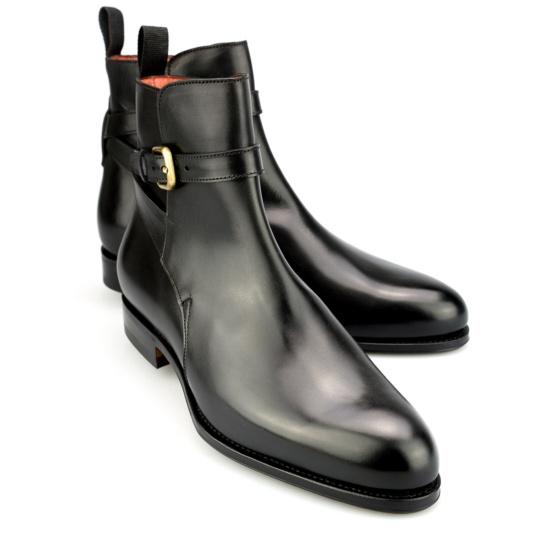 Jodhpur Boot In Black Box Calf