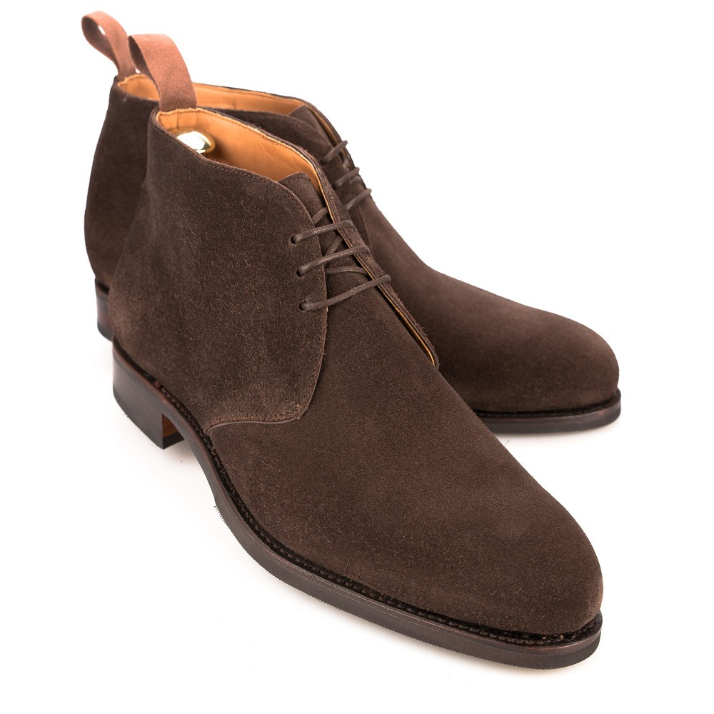 BROWN CHUKKA BOOTS 10027 FOREST