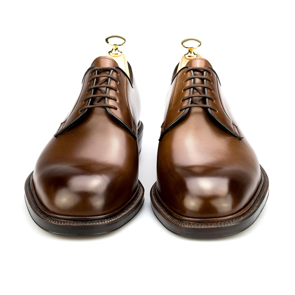 DRESS SHOES DERBY IN BROWN CARMINA 531