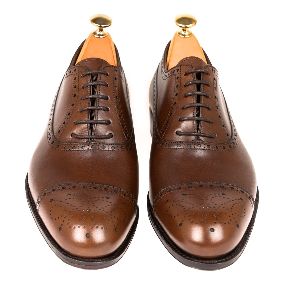 BROWN DRESS SHOES 80443 ROBERT