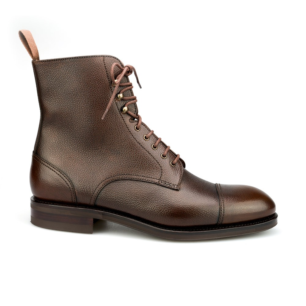 JUMPER BOOTS IN BROWN CARMINA 80184
