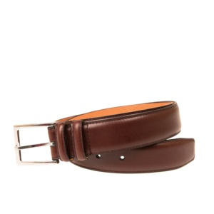 BURGUNDY CALF BELT