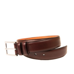 BURGUNDY VEGANO BELT