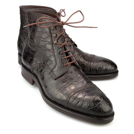 Mens Crocodile Chelsea Boots Carmina