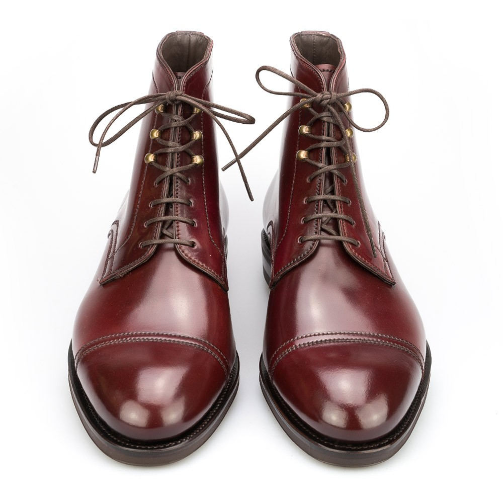 FUR-LINED CORDOVAN BOOTS 80179 SOLLER (INCL. SHOE TREE)
