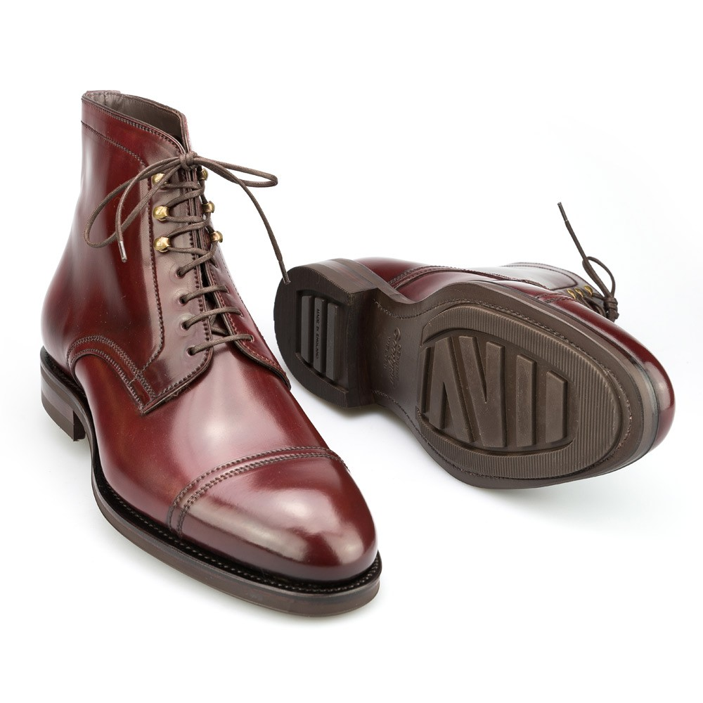 Burgundy Cordovan Leather Jumper Boot Carmina Shoemaker quY7lHpy4