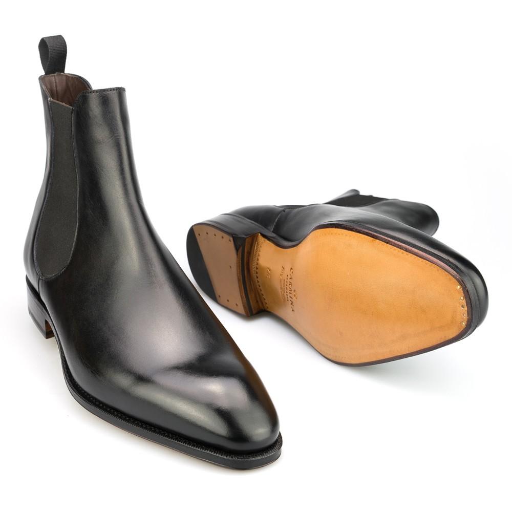 botas chelsea en negro | CARMINA 80216