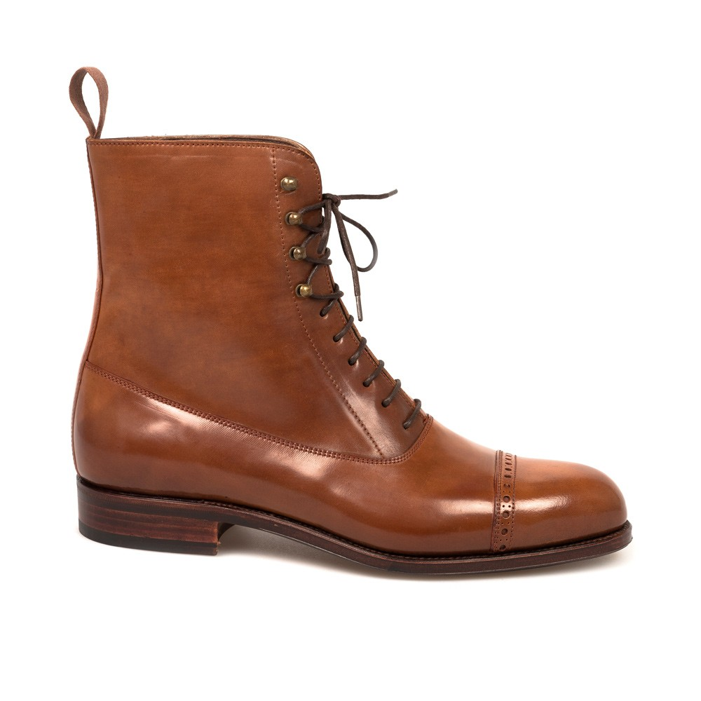 CORDOVAN BALMORAL BOOTS 80092 FOREST