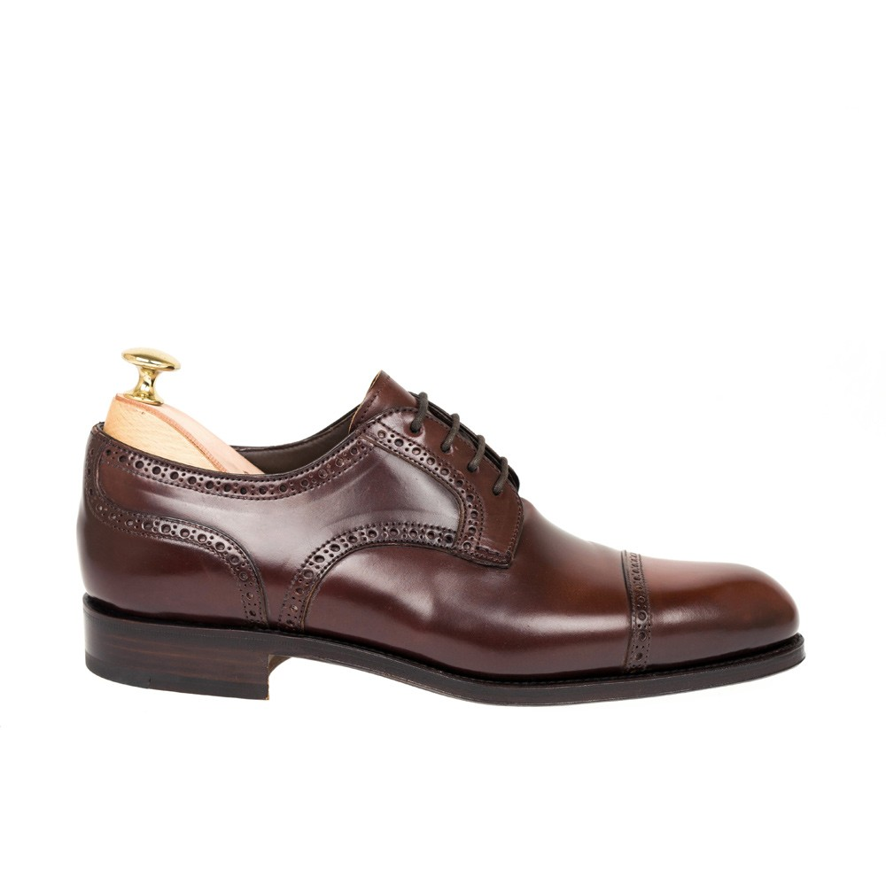 CORDOVAN DERBY SHOES 80421 ROBERT