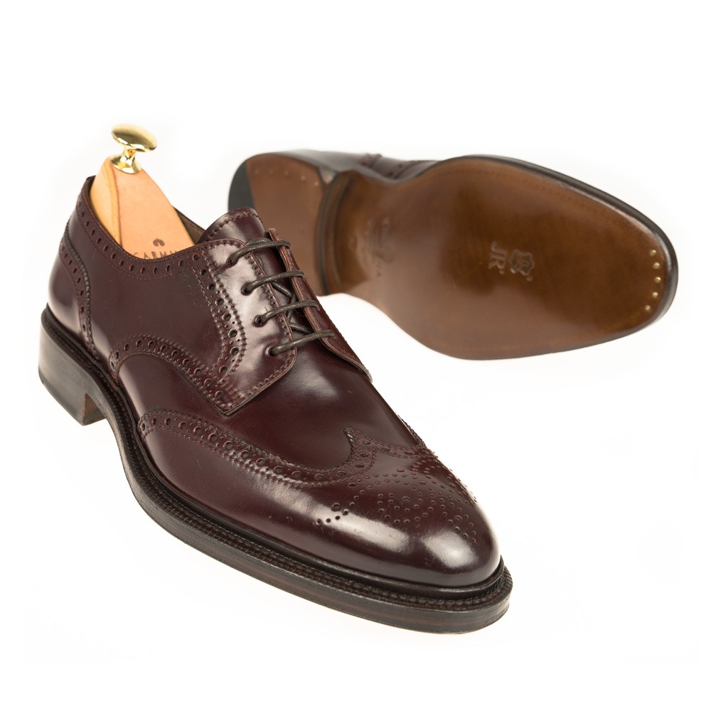 WINGTIP CORDOVAN SHOES 80264 SOLLER