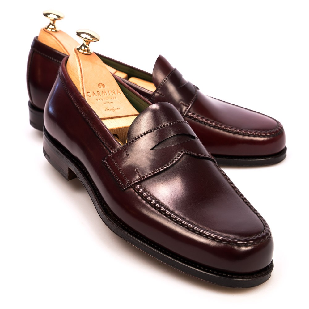 CORDOVAN PENNY LOAFERS 80440 PINA