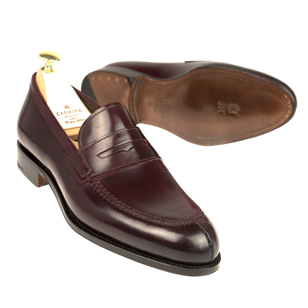 5a4e2314206 CORDOVAN PENNY LOAFERS 923 FOREST