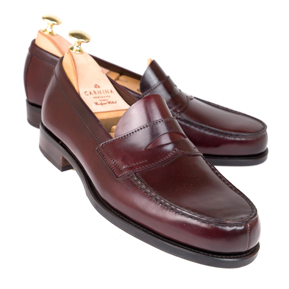 CORDOVAN PENNY LOAFERS 80352 COVENT