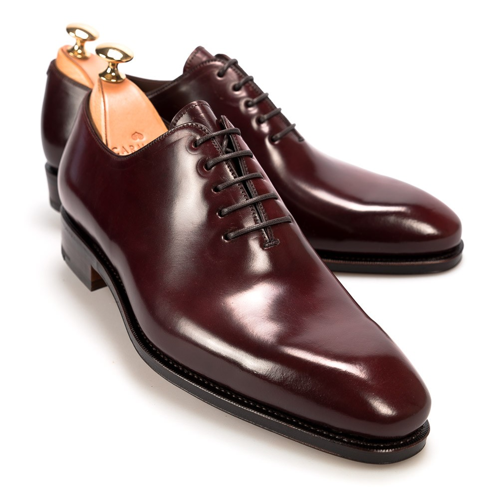 Shell Cordovan Leather Shoe Pictures