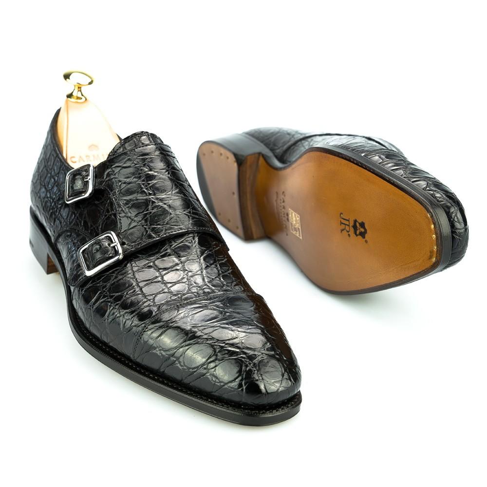 zapatos de cocodrilo de hombre