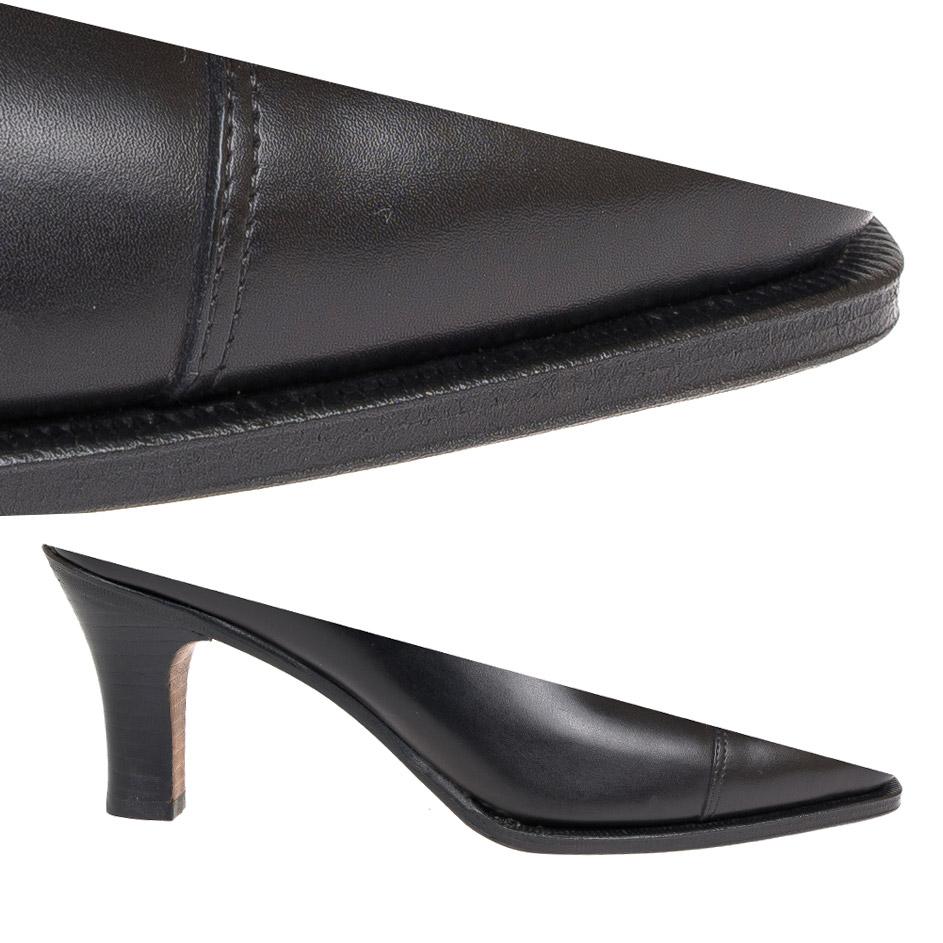 Single Sole Heel && Black Edge