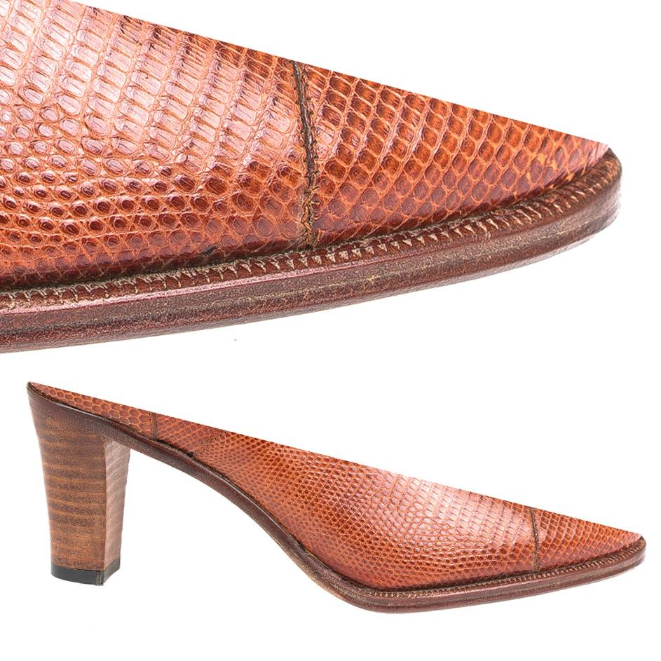 Single Sole Heel && Chestnut Edge