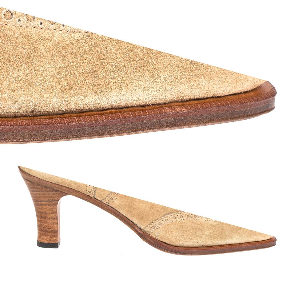 Single Sole Heel && Natural Edge