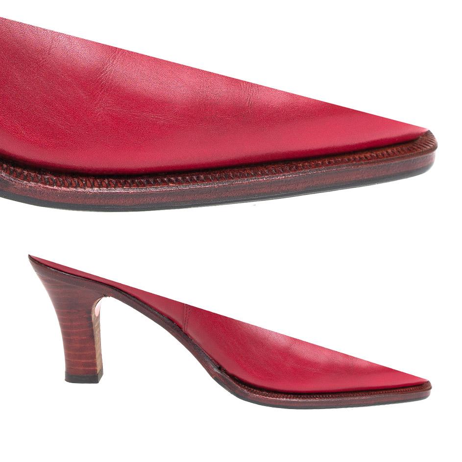 Single Sole Heel && Red Edge