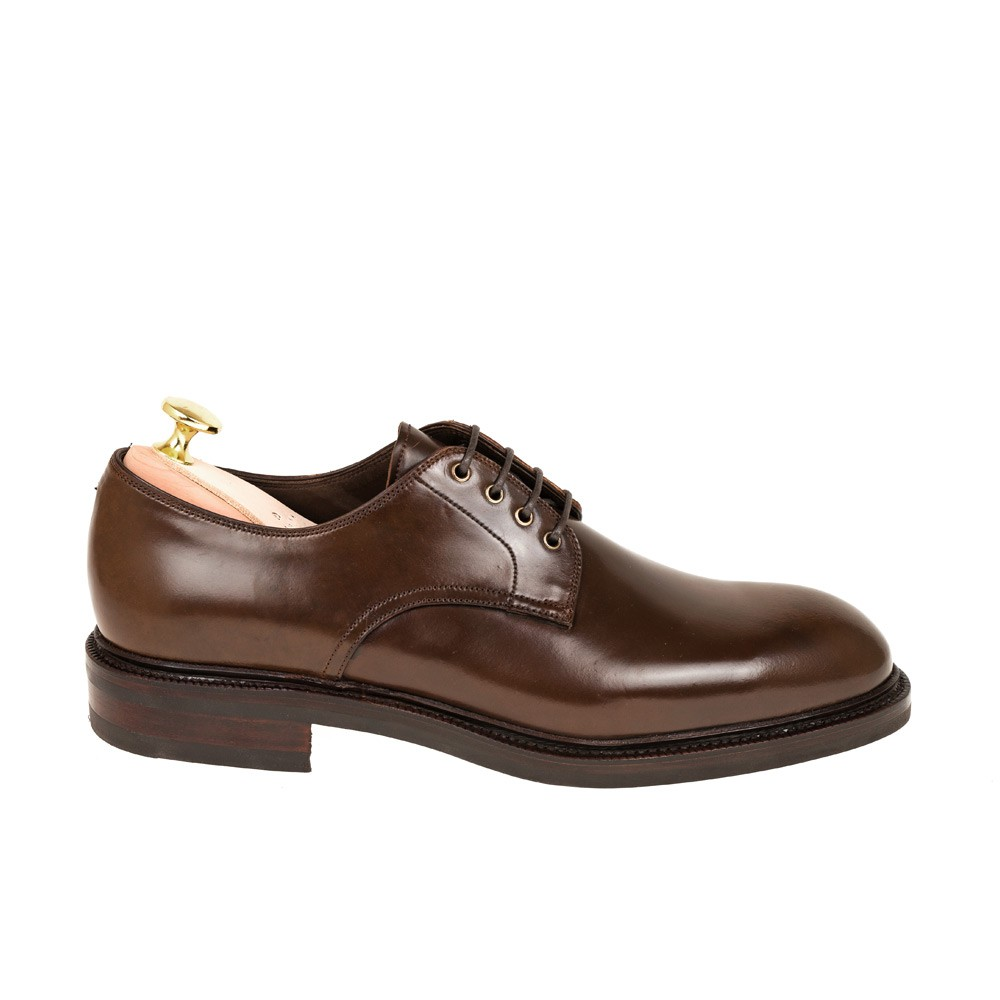 CORDOVAN PLAIN TOE BLUCHER 955 OSCAR (INCL. SHOE TREE)