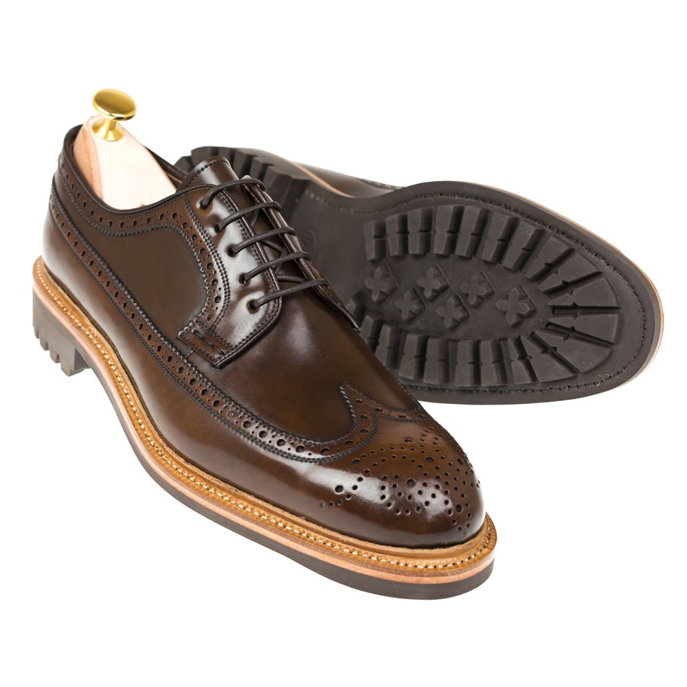 CORDOVAN BLUCHER SHOES 532 OSCAR