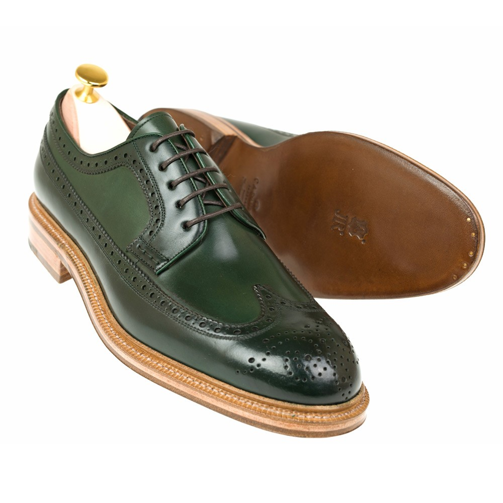 CORDOVAN DERBY SHOES 532 OSCAR ( INCL. SHOE TREE )