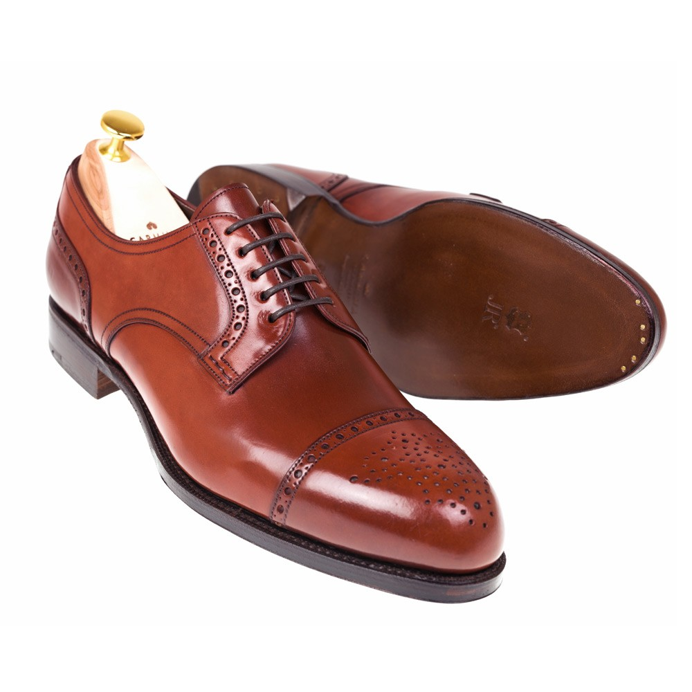 CORDOVAN BLUCHER SHOES 80531 FOREST