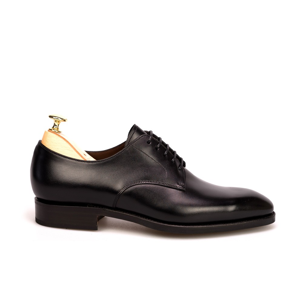 BLACK DERBY SHOES 80449 RAIN